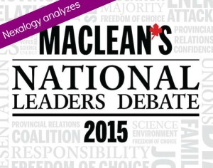 Nexalogy analyzes #macdebate